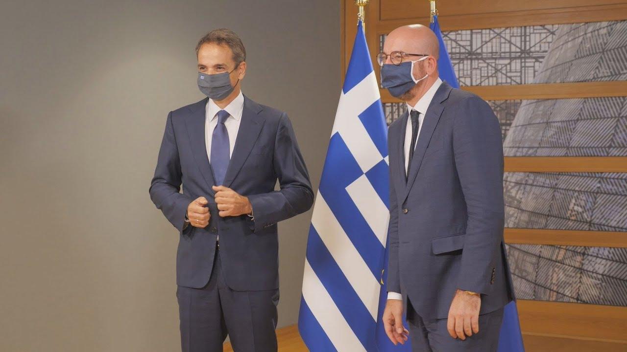 Ευρωπαϊκό Συμβούλιο: Συνάντηση του Κυρ. Μητσοτάκη με τον Σαρλ Μισέλ