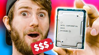 I bought this $9000 CPU for $999 😁