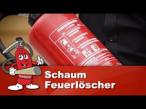 Schaumlöscher 6kg - Der Schaumfeuerlöscher ist der Feuerlöscher fürs Büro - Vorteile & Anleitung