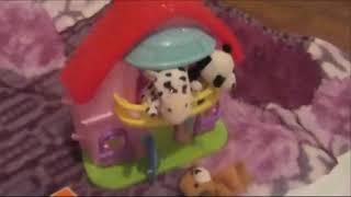 Мышки. ушки. хрюшки. ватрушки. Играем с маленькими игрушками