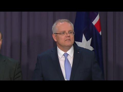 Australia's new Prime Minister Scott Morrison gives first speech