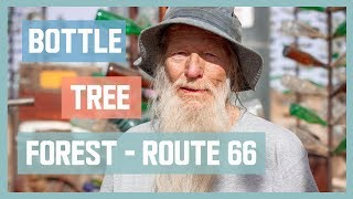 Route 66 Bottle Tree Ranch // Interview & Documentary With Elmer Long (RIP)