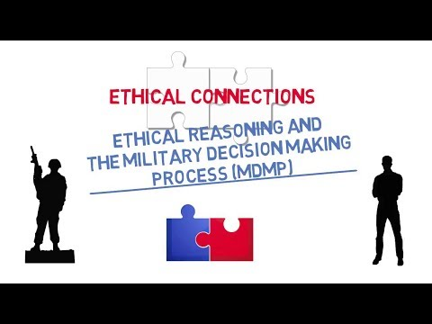 Ethical Connections: Ethical Reasoning and the Military Decision Making Process (MDMP) Screenshot