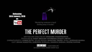 The Perfect Murder   Crime Drama Short Film Trailer