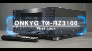 This is a first look at the flagship 11.2 AV Receiver from Onkyo TX RZ3100