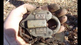 Metal Detecting Along The B&O Railroad