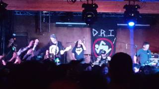 "D.R.I. ""Hooked"" @ Union Club 10/26/16"