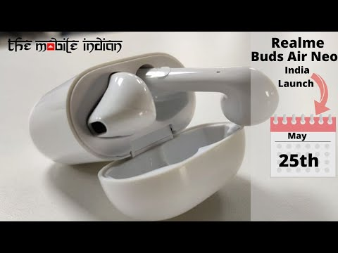 Realme Buds Air Neo India launch and pricing of Realme TV