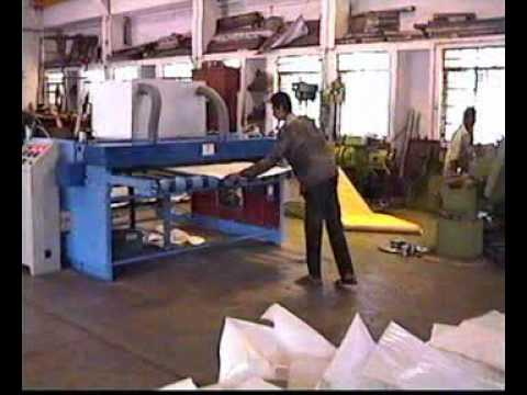 Punching Machine for HDPE Jumbo Container Bags