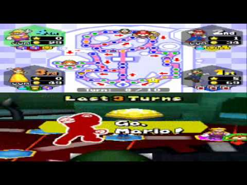 Mario Party Ds Walkthrough Bowser S Pinball Machine 1 4 By
