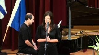 """השיר """"בדמייך חיי""""- עצרת יום הזיכרון לשואה ולגבורה"""