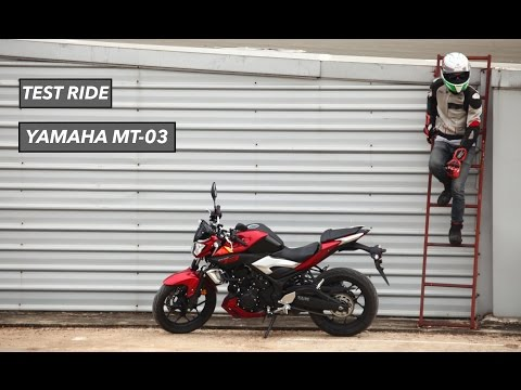 2015 Yamaha MT-03 [Test Ride] : ขี่ทดสอบ ยามาฮ่า เอ็มที-03 ใหม่