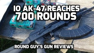 Inter Ordnance AK47 Review 700 Rounds
