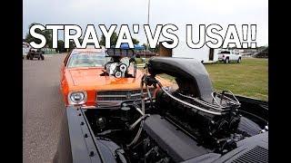 Australia VS USA - Burnout Contest - Powercruise 2018!