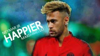 Neymar Jr ► Marshmello Ft. Bastille   Happier | Skills & Goals | 201819 HD