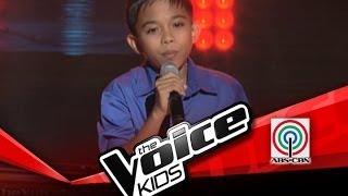 "The Voice Kids Philippines Blind Audition ""Faithfully"" by Jimboy"