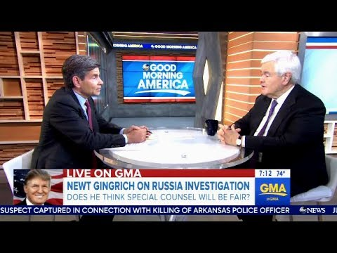 Newt Gingrich - On Special Counsel