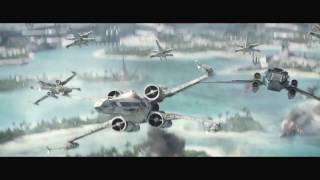 X Wing Tribute (Into The Fire)