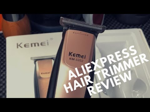 Kemei KM-3202 Hair Trimmer Unboxing and Review 2018 | Cordless Trimmer