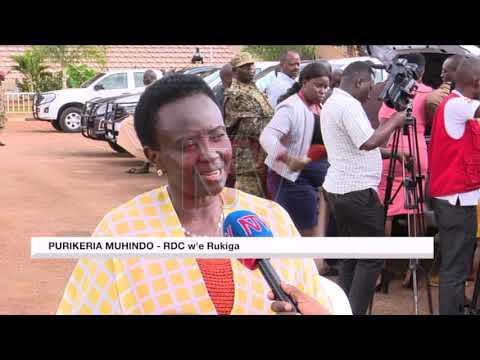 OKUBUNYISA ENJIRI YA NRM: Ba RDC baweereddwa mmotoka