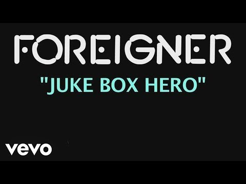 Foreigner Jukebox Hero Official Lyric Video Chords