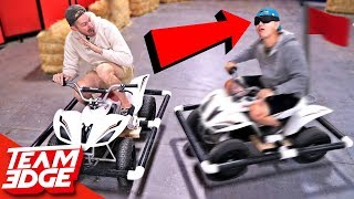 Marco Polo Battle on ATVs!! (We're Idiots)