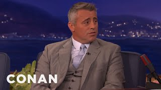 Matt LeBlanc: A Badger Attacked My Dirt Bike  - CONAN on TBS