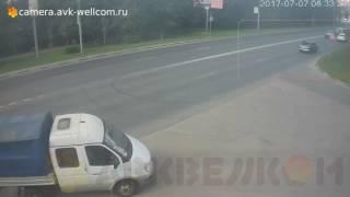 Авария, г. Котельники, ул. Новая д. 13, 07.07.2017