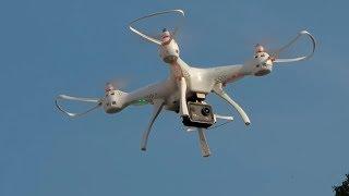 Вменяемая SYMA X8 PRO. GPS и нормальная Камера. Недорогой Квадрокоптер.