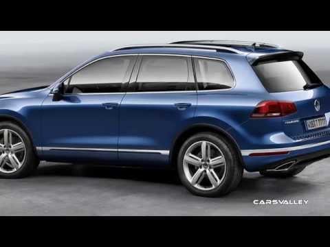 2015 Volkswagen Touareg Preview