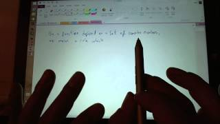 Surface Pro 3 Class Style Note Taking One Note 2013