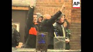 NIRELAND: 20 INJURED TRYING TO STOP PROTEST MARCH