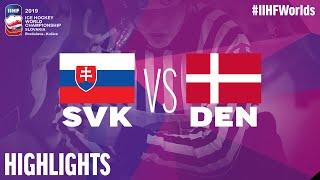 Slovakia vs. Denmark - Game Highlights