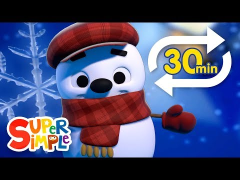 Little Snowflake (Extended Mix - 30 Mins!) | Kids Songs | Super Simple Songs