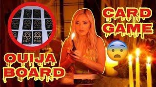 Ouija Board Card Game Ritual at 3AM Challenge