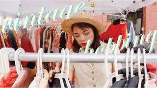 Vintage Shopping at the Brooklyn Flea Market + Haul // Vlog No. 8