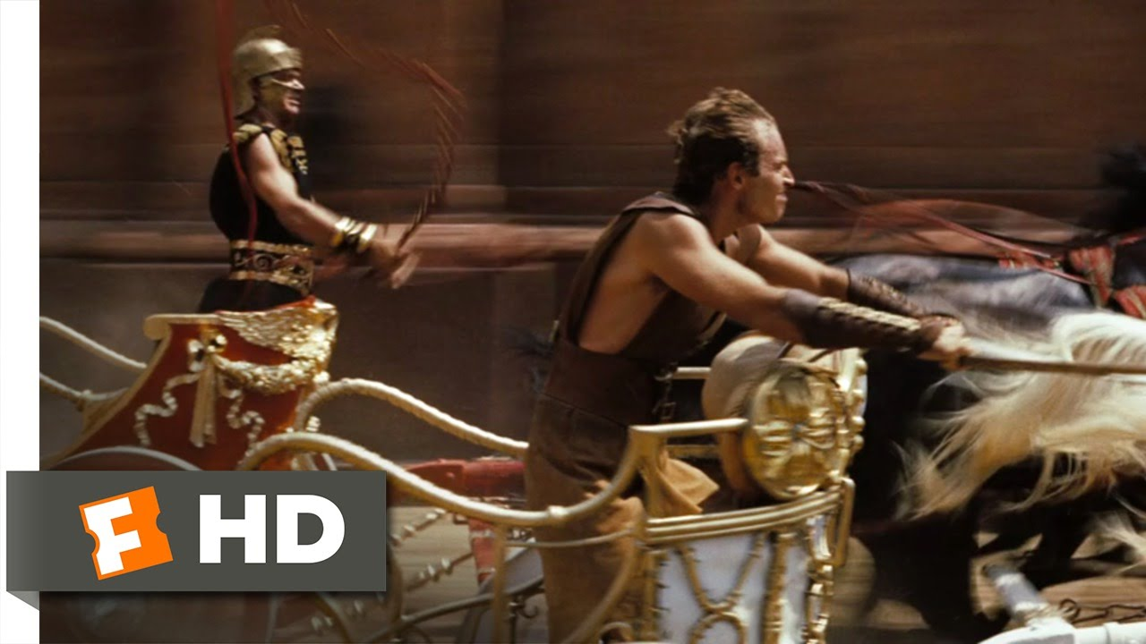 Ben-Hur (3/10) Movie CLIP – The Chariot Race (1959) HD