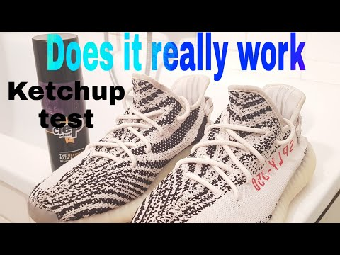3d85f5a69af1b Yeezy Boost 350 V2 Cream White Ketchup and Coke Test - Crep Protect ...