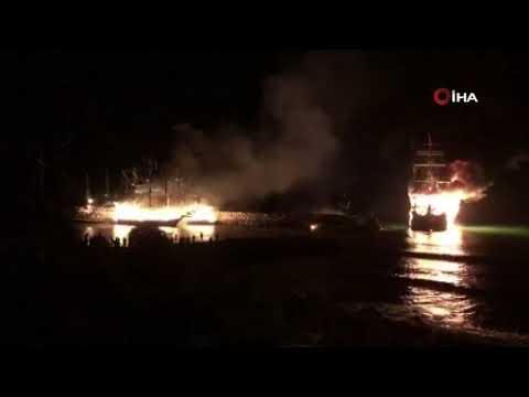 4 tur teknesi kül oldu