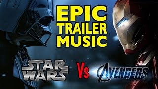 STAR WARS Vs The Avengers (EPIC MashUp)