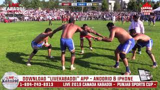 Semi 2 - Dulla Bachittar Ruby Hoshiara Udna Pinka - 2019 CANADA KABADDI