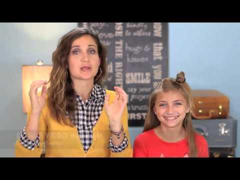 ▶ How to Create a Diagonal Bow Braid (видео)