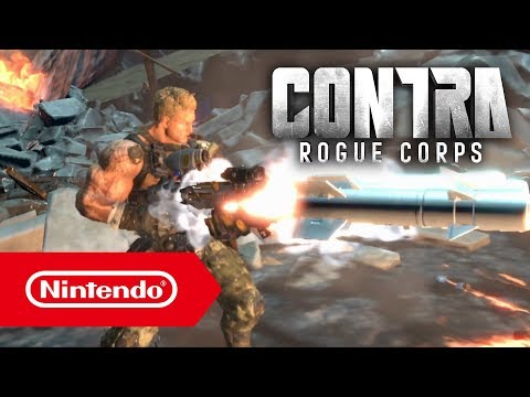 Trailer du Nintendo Direct de Contra Rogue Corps