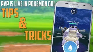 PVP Is Live In Pokemon Go Tips & Strategies For First Battle!
