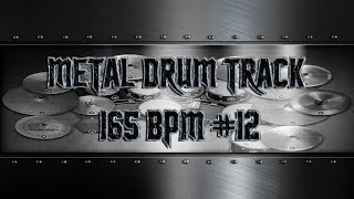 Aggressive Metal Drum Track 165 BPM | Preset 3.0 (HQ,HD)