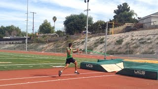 Pole Vault: Pole Drop and Plant tutorial