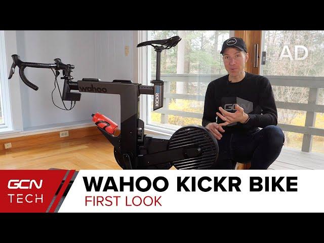 Видео Велотренажер Wahoo KICKR Bike Trainer