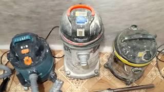 Строительный пылесос. Китайские пылесосы Bort, Sturm, Энкор.