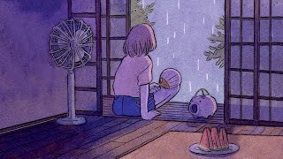 Summer Rain ☔️ lofi hip hop mix