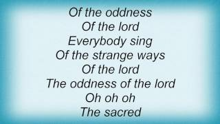 A-camp - The Oddness Of The Lord Lyrics